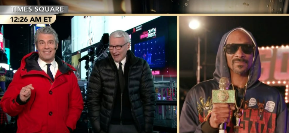 [WATCH] Anderson Cooper Goes Viral Laughing At Snoop Dogg's Get High Stories