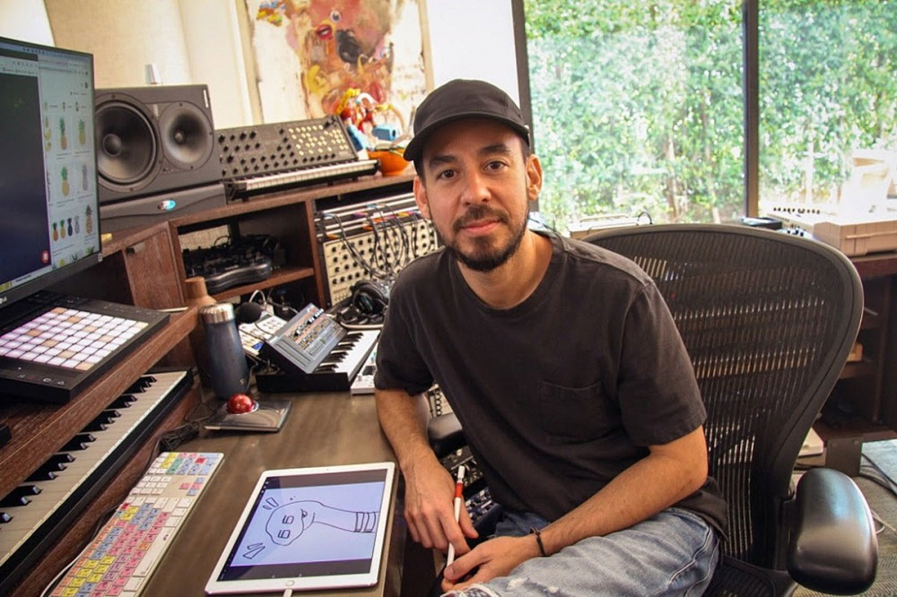 Mike Shinoda Wants to Produce Fans' Music on Twitch