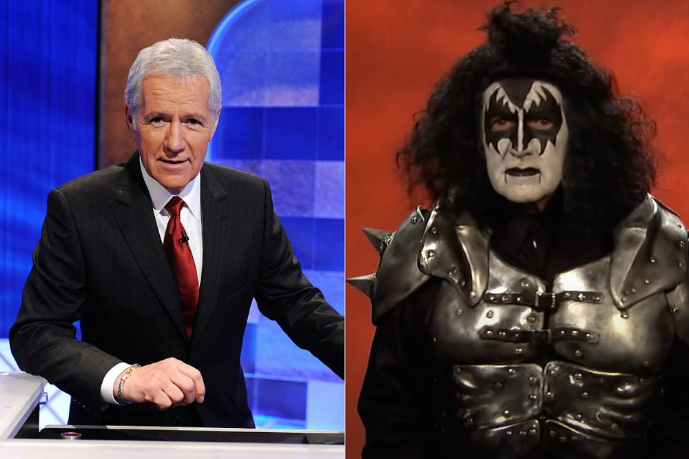 Alex Trebek's Gene Simmons KISS Costume Makes 'Jeopardy!' Farewell Video