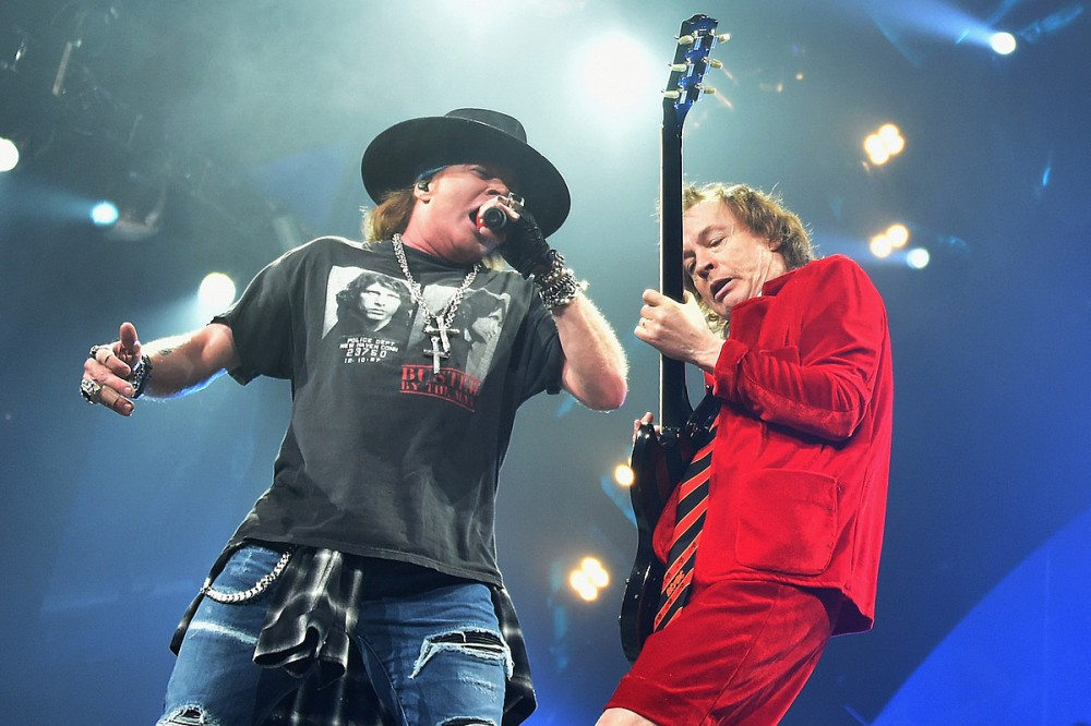 AC/DC's Angus Young Hasn't Written Any New Music With Guns N' Roses' Axl Rose