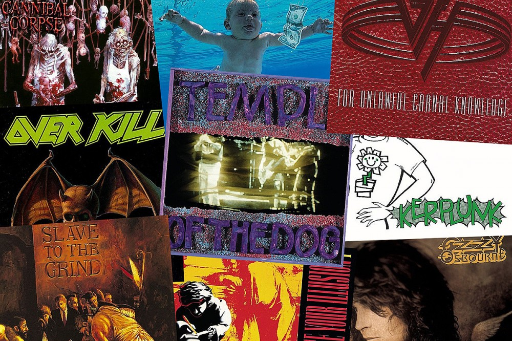 46 Rock + Metal Albums You Didn't Realize Were Turning 30 in 2021