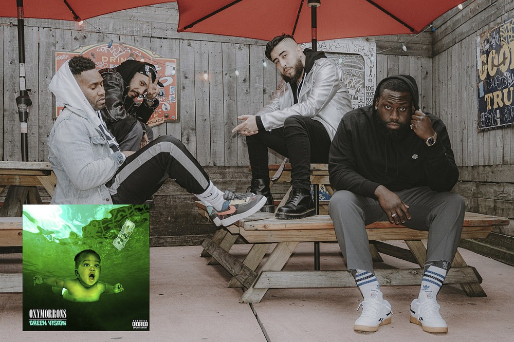 Oxymorrons Flawlessly Blend Hard Rock, Hip-Hop on Braggadocious 'Green Vision'