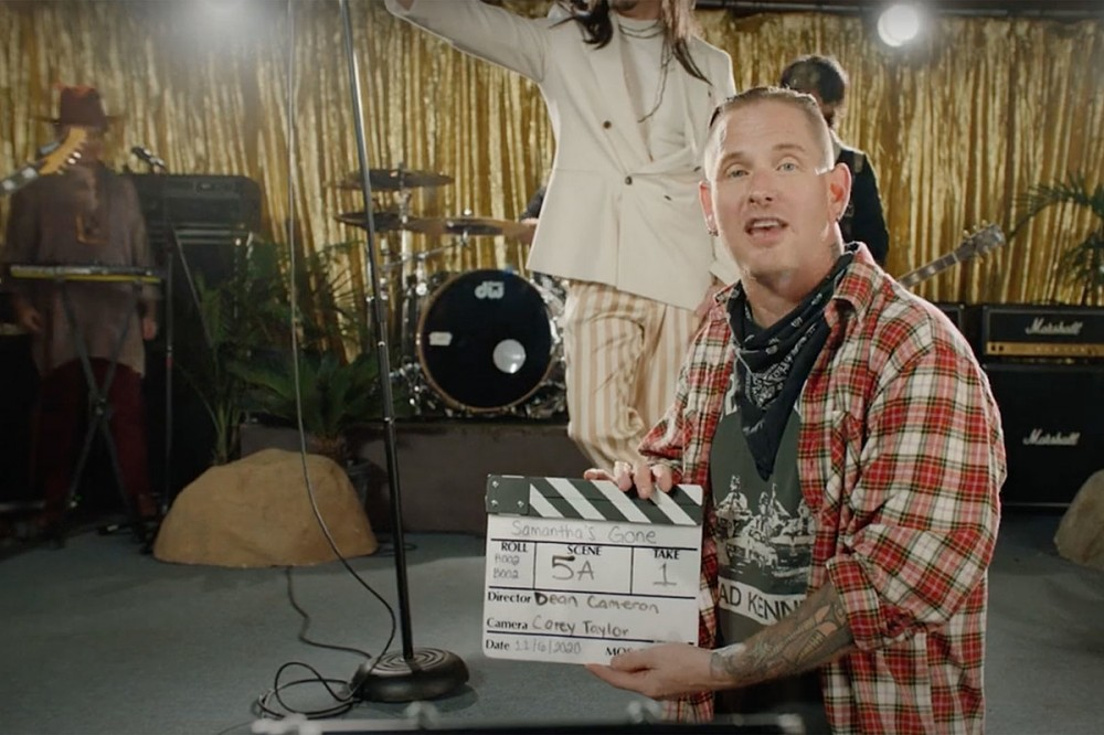 Corey Taylor Lands Steel Panther + More for Cameo-Filled 'Samantha's Gone' Video