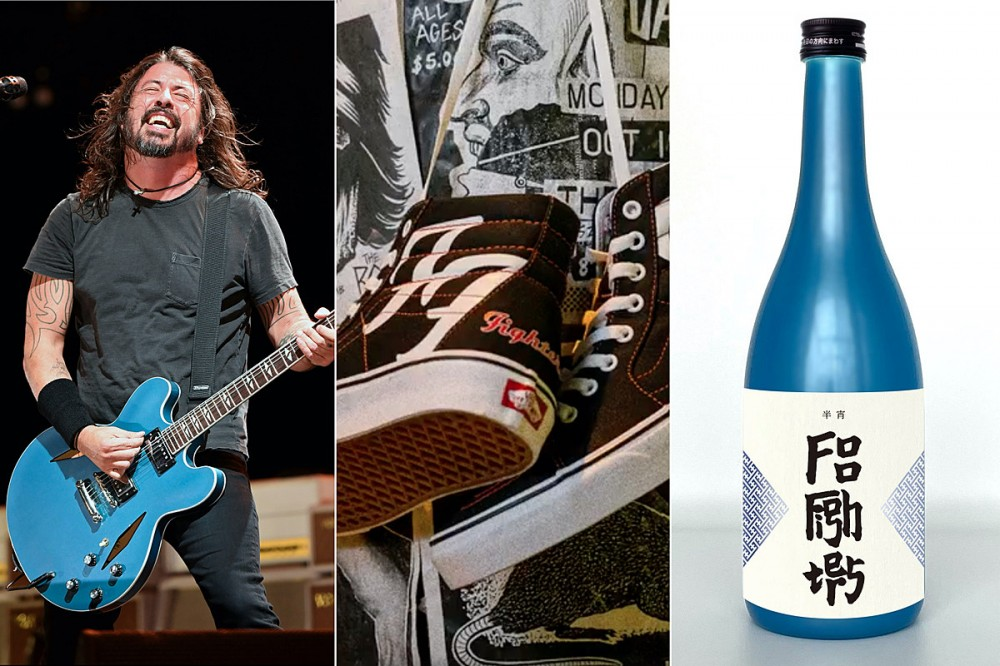 Foo Fighters Vans Shoes + Japanese Sake Beverage Both Coming Soon
