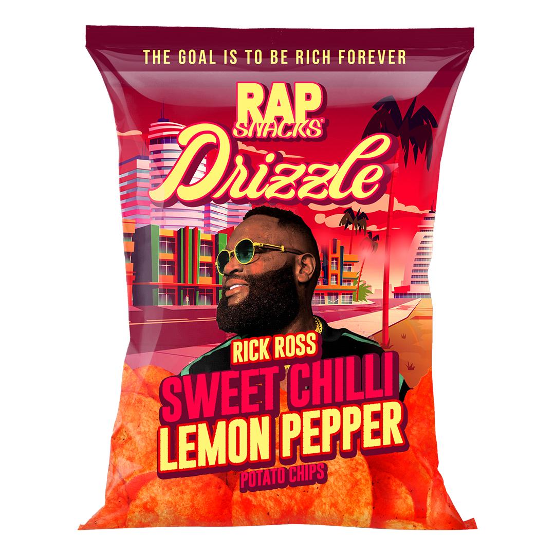 Rick Ross and Rap Snacks Announce Multi-Product Brand Partnership