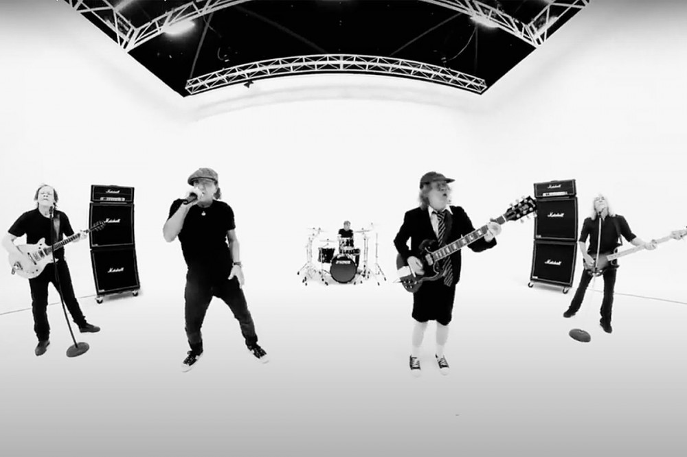 AC/DC Perform Live Together in 'Realize' Video