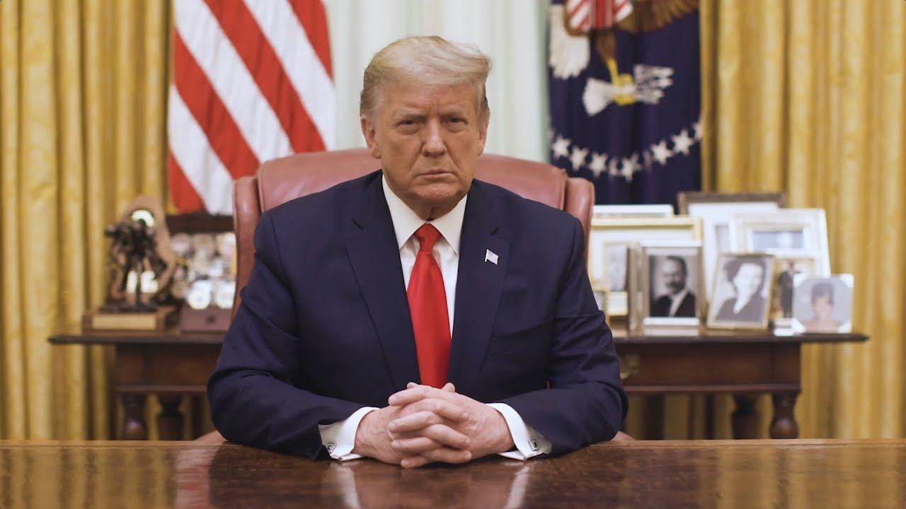 [WATCH] Donald Trump Addresses the Nation After Second Impeachment