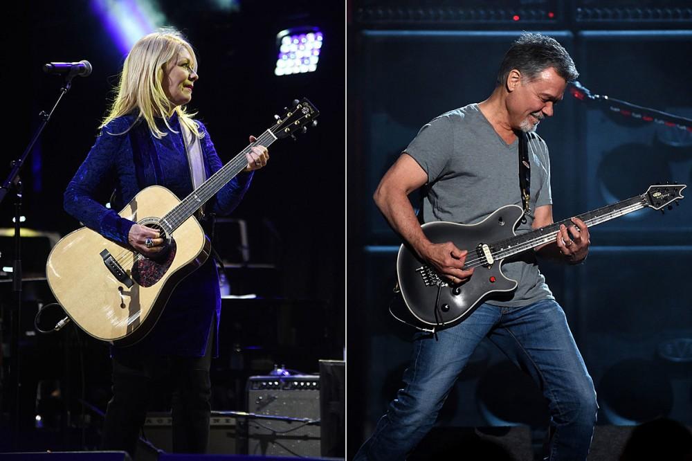 Heart's Nancy Wilson Was First to Gift Eddie Van Halen an Acoustic Guitar