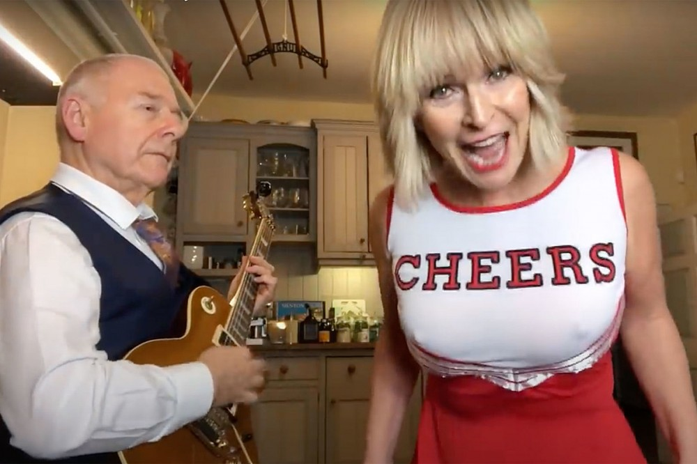 Toyah + Robert Fripp Thank Fans For Metallica Cover Success With Playful Billy Idol Cover