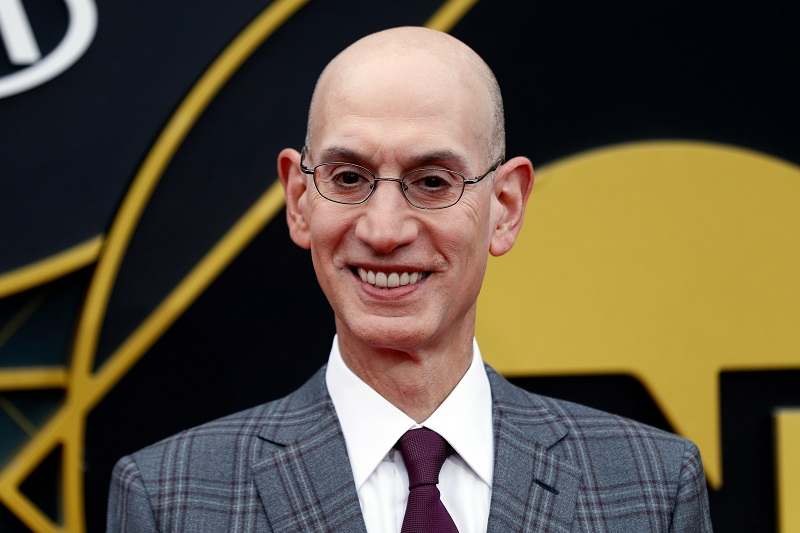 SOURCE SPORTS: Adam Silver Wants NBA Players To Get the COVID-19 Vaccine To Inspire Those in the African American Community