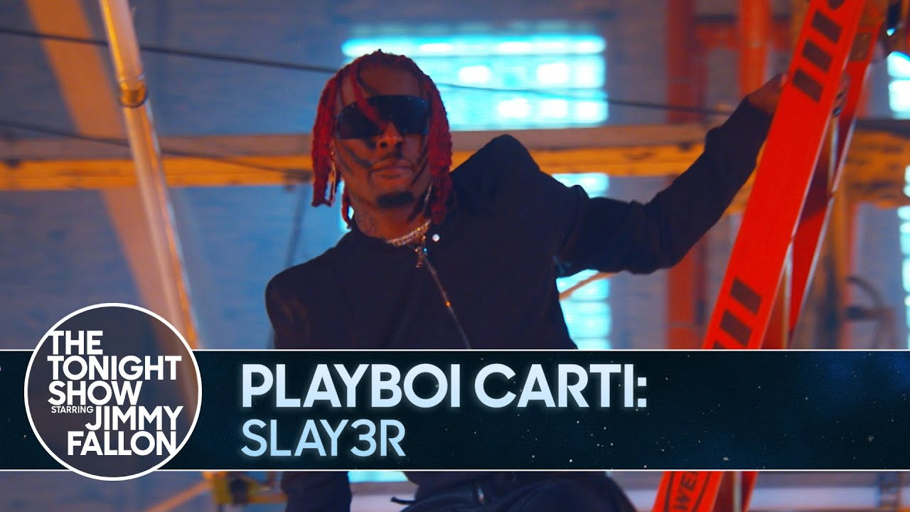 "Watch Playboi Carti Perform ""Slay3r"" on Jimmy Fallon"