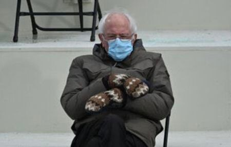 Bernie Sanders Reacts To Meme-able Inauguration Day Moment: 'I Was Just Trying To Keep Warm'