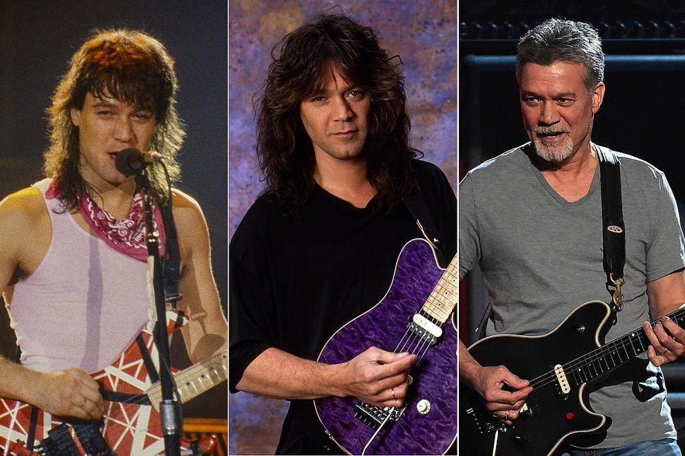 See Photos of Guitar Legend Eddie Van Halen Through the Years