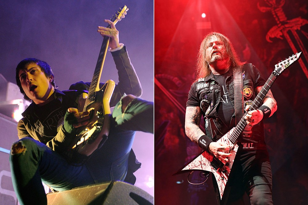 My Chemical Romance's Frank Iero Gifted Gary Holt a New Guitar