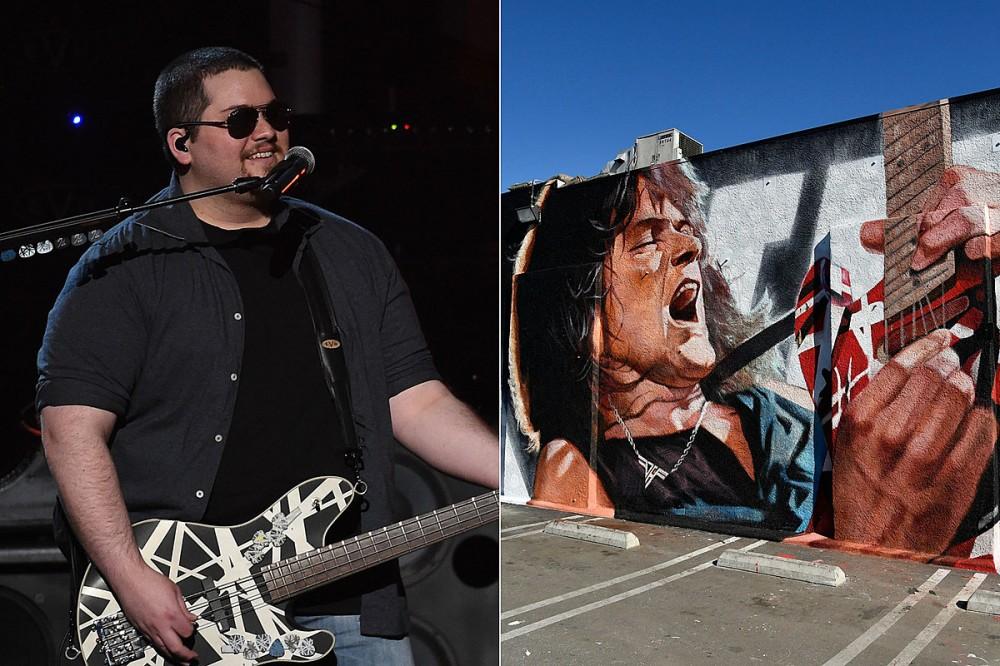 Wolfgang Van Halen Defends 'Literally Flawless' Eddie Van Halen Mural