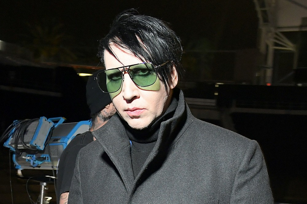 Marilyn Manson Loses TV Roles in 'American Gods' + 'Creepshow' After Abuse Allegations