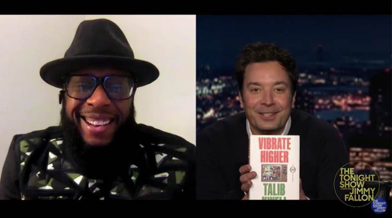 Talib Kweli Discusses His New Book and Album on 'The Tonight Show'