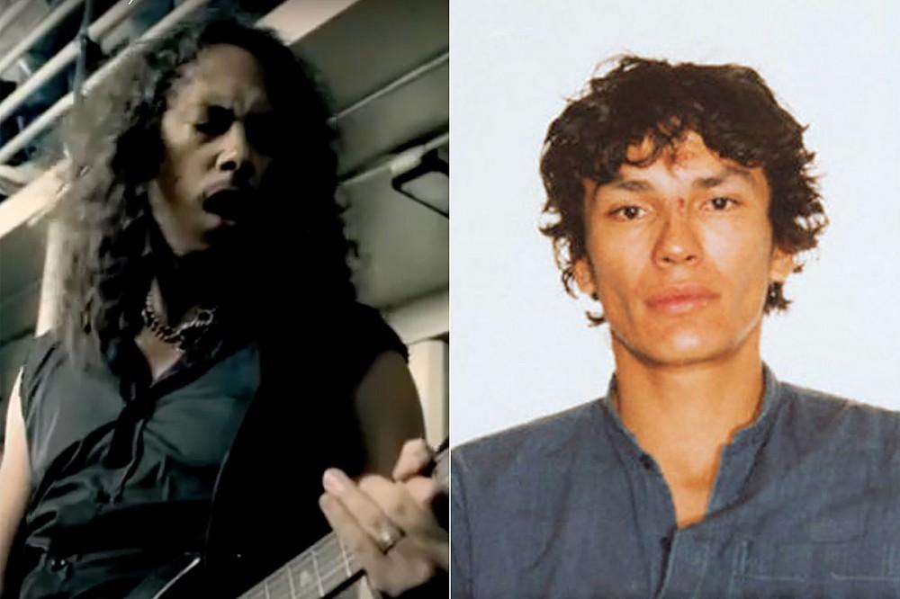 Kirk Hammett Has 'Night Stalker' Richard Ramirez Memento From 'St. Anger' Shoot