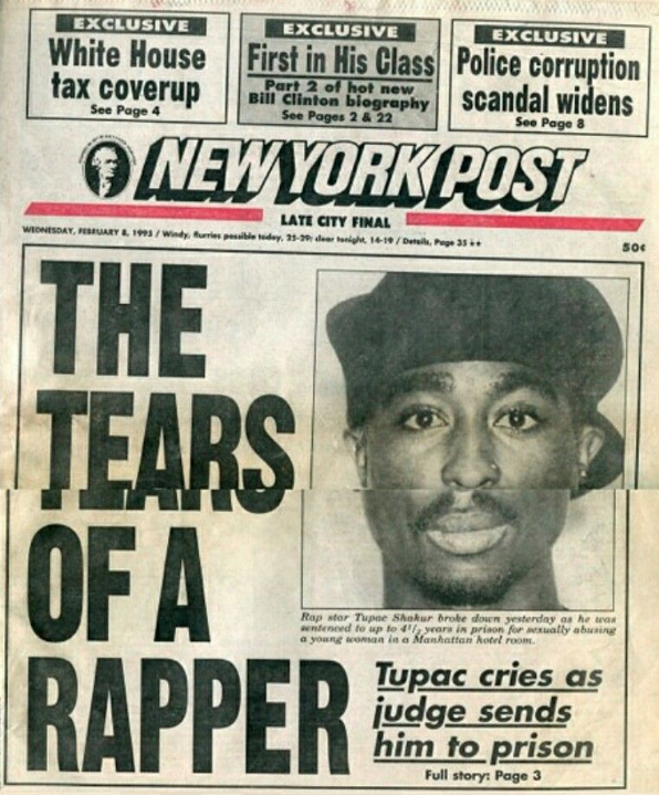 Today In Hip Hop History: Tupac Shakur Sentenced In Sexual Abuse Case 26 Years Ago