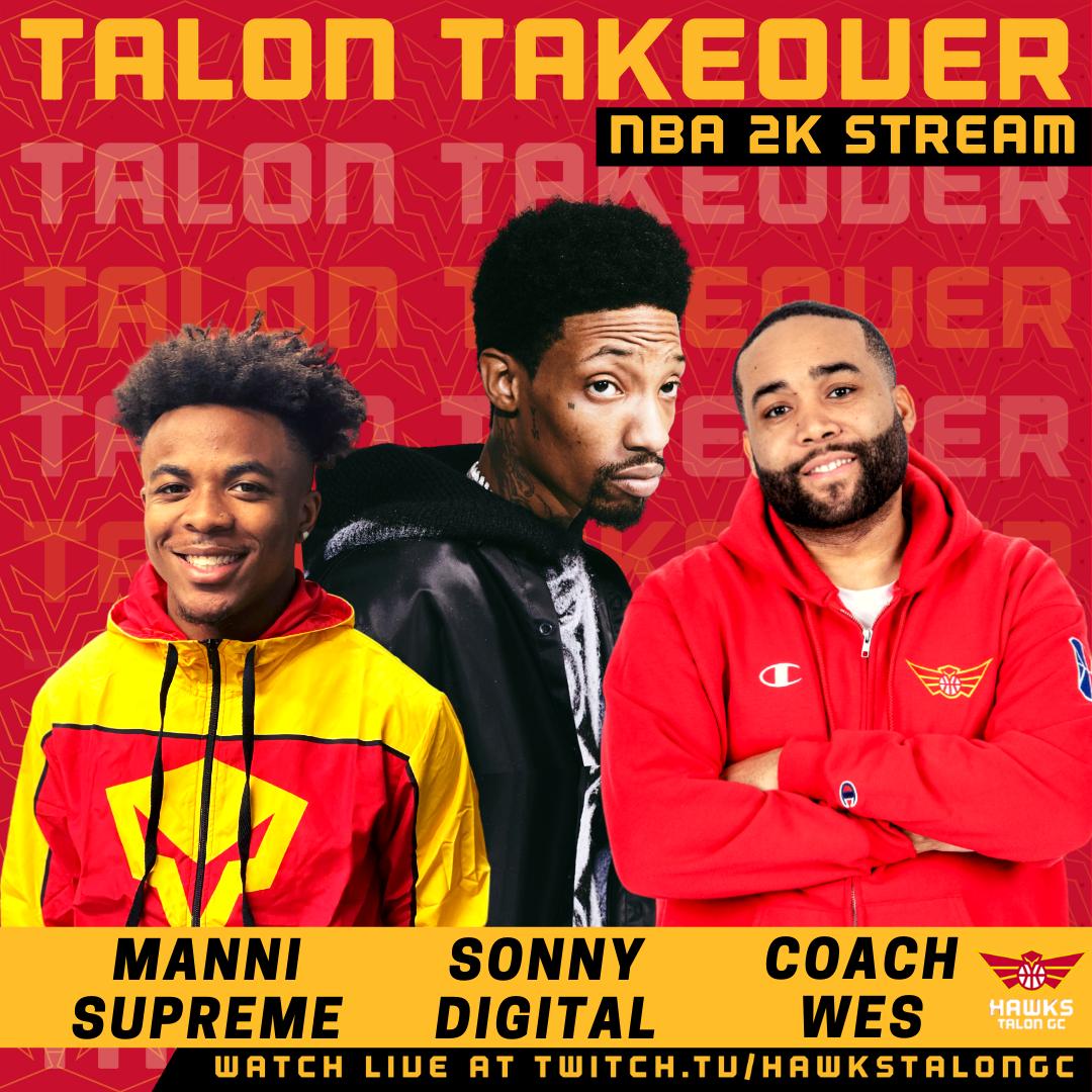 Sonny Digital Joins Hawks Talon GC for Live Twitch Stream