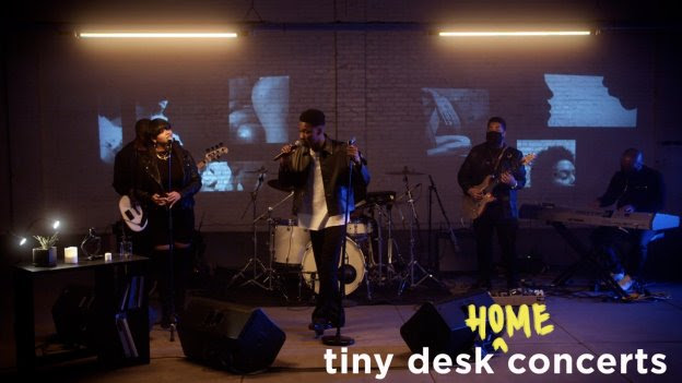 [WATCH] GIVĒON Takes the NPR Tiny Desk Home Concert Stage