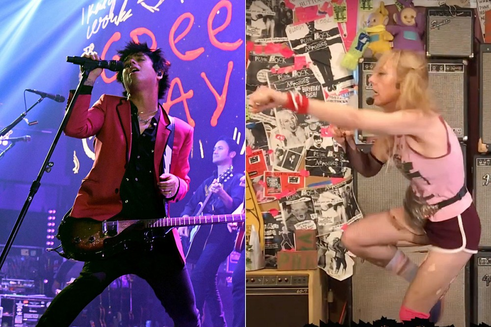 Green Day's 'Here Comes the Shock' Video Gives You an Aerobic Workout