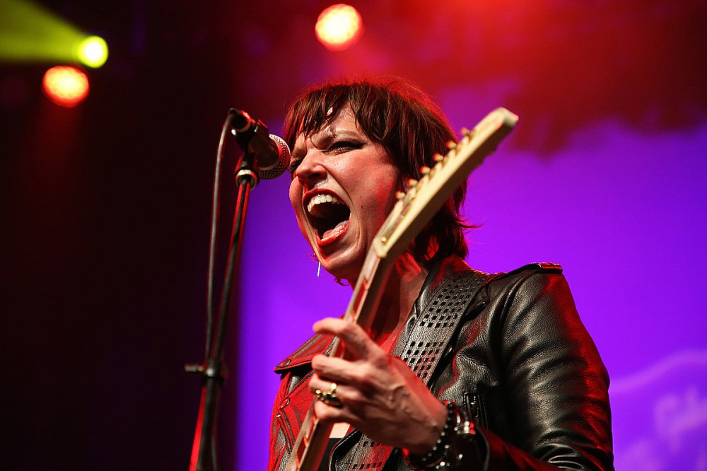 Lzzy Hale Touts the Joy of Playing Without Pre-Recorded Tracks