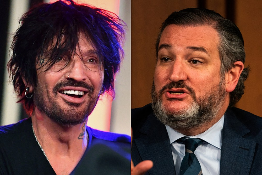 Watch: Motley Crue's Tommy Lee Roasts Ted Cruz After Texas Senator's Vacation Snafu