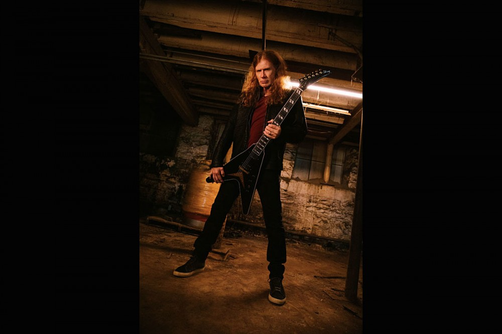 Dave Mustaine Confirms Partnership With Gibson Guitars