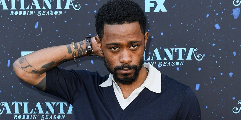 LaKeith Stanfield Points a Gun at Picture of Charlamagne Tha God in Viral Video
