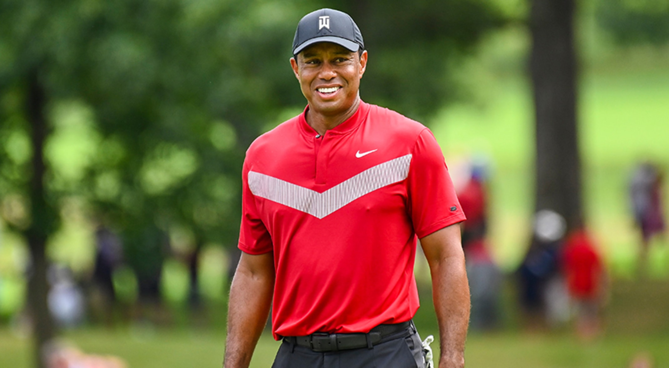 Tiger Woods Injured In Rollover Collision