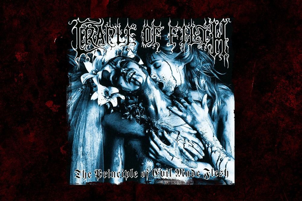 27 Years Ago: Cradle of Filth Make Their Debut With 'The Principle of Evil Made Flesh'