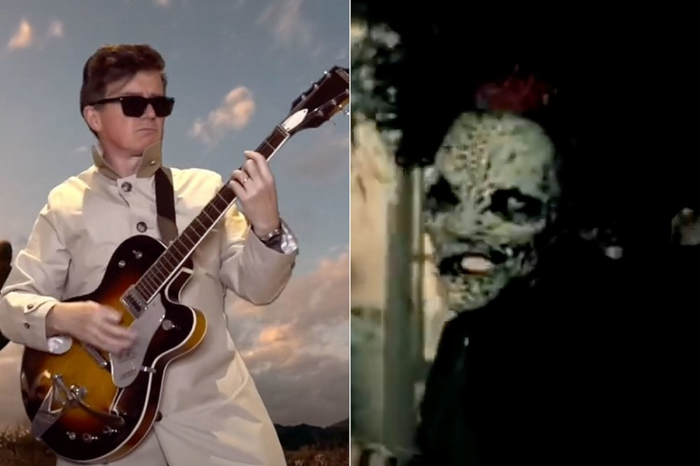 Watch Rick Astley Rock Out to Slipknot's 'Duality'