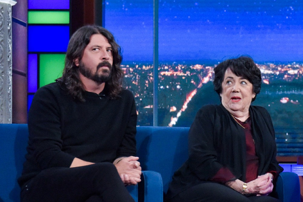 Dave Grohl + His Mom, Virginia, Are Creating a TV Show Based on Her Book