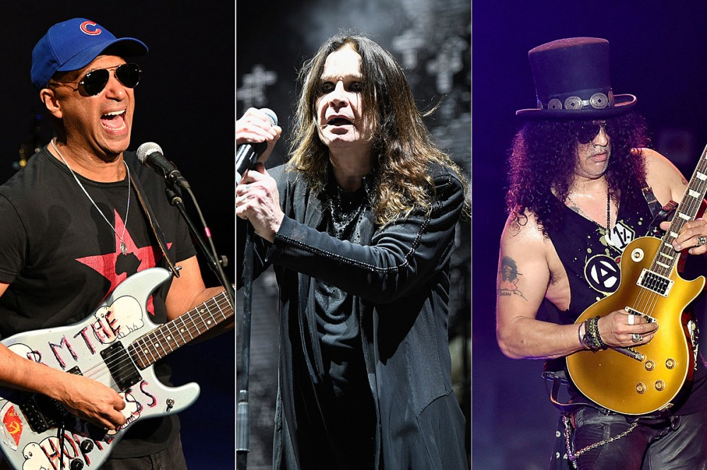 Tom Morello + Slash Almost Got Blown Up at an Ozzy Osbourne Show