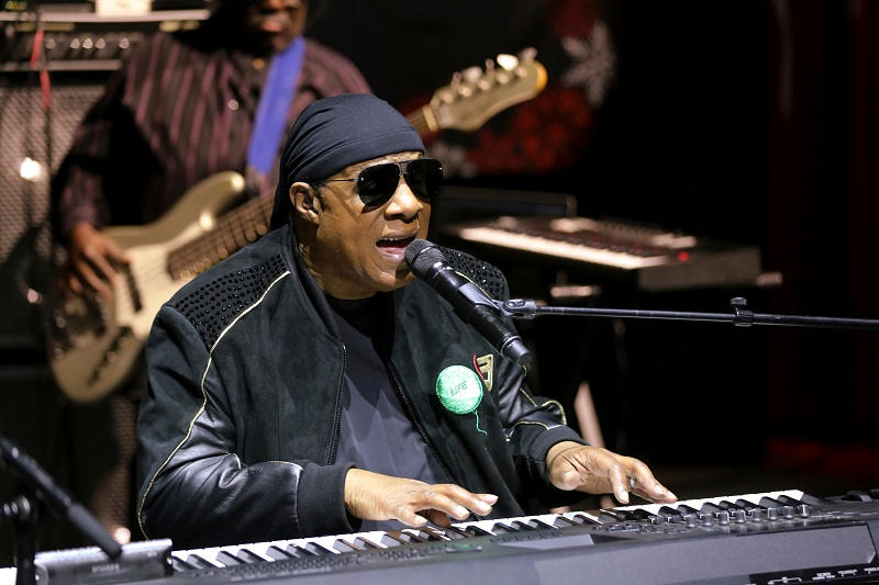 Stevie Wonder Announces That He's Permanently Moving to Ghana