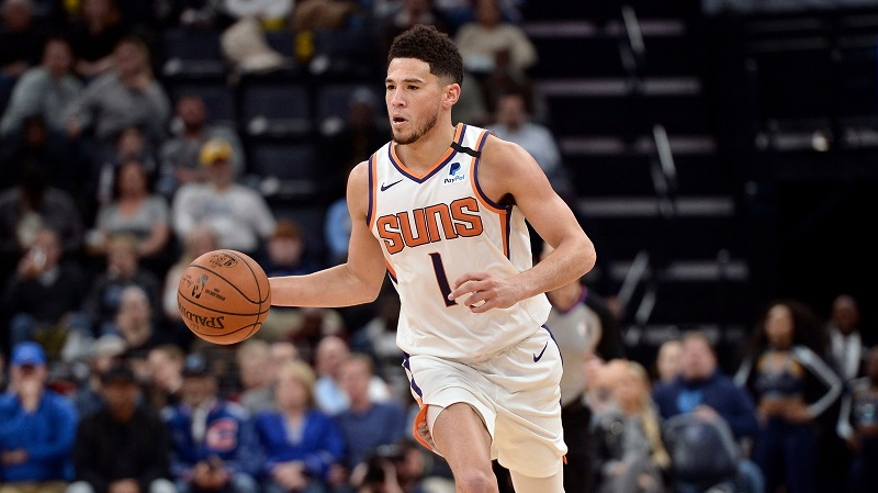 SOURCE SPORTS: Devin Booker Named as Anthony Davis All-Star Replacement