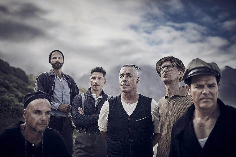 Rammstein Keyboardist: 'We Recorded a Record That We Hadn't Planned On'