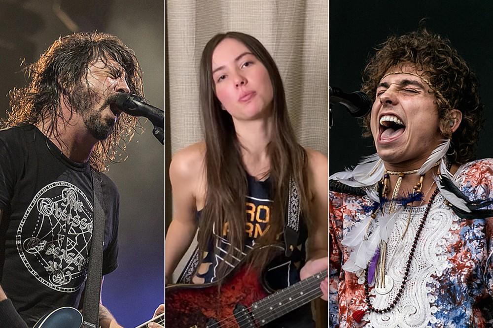 17-Year-Old Plays Shred Solos Over Foo Fighters + Greta Van Fleet Songs