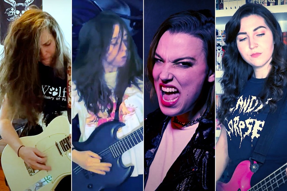 Lzzy Hale Joins Baroness, Code Orange + Year of the Knife Members Cover Pantera