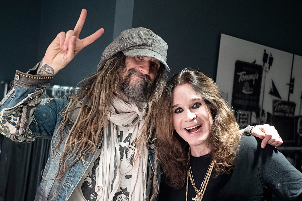 Rob Zombie: First Time Meeting Ozzy Osbourne Was 'Awesome' + 'Uncomfortable'
