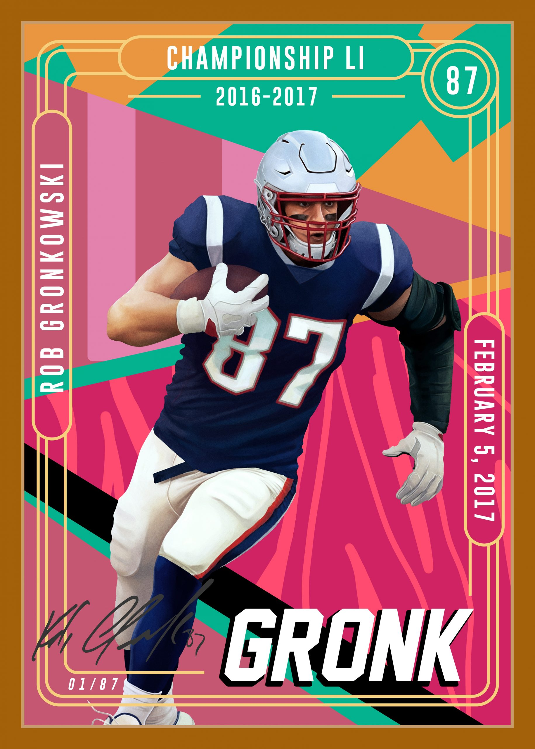 SOURCE SPORTS: Rob Gronkowski Becomes 1st Athlete to Launch Own Exclusive NFT Series