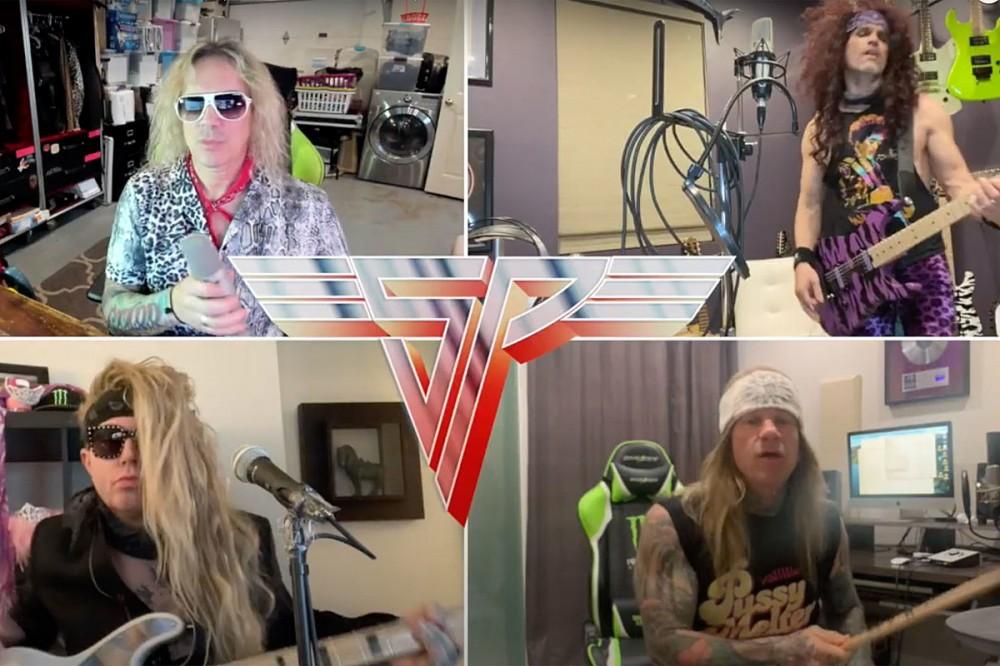 Steel Panther Cover Van Halen Classics 'Beautiful Girls' + 'D.O.A.'