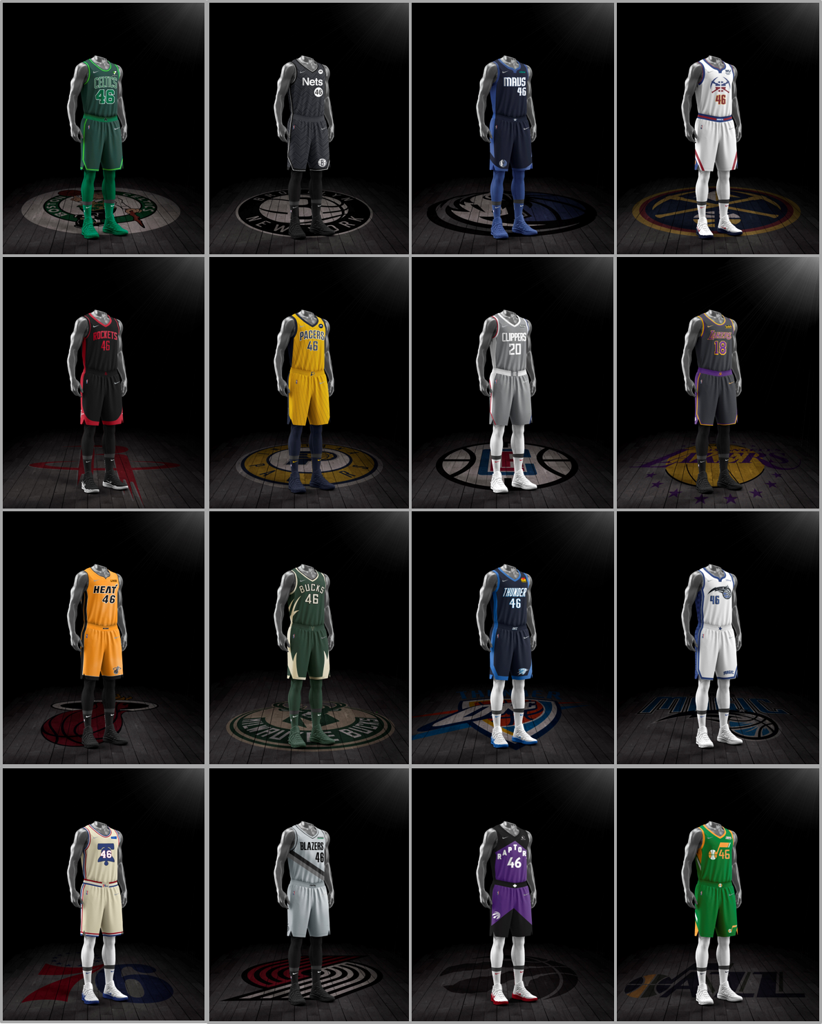 NBA Reveals 2020-21 Nike Earned Edition Jerseys