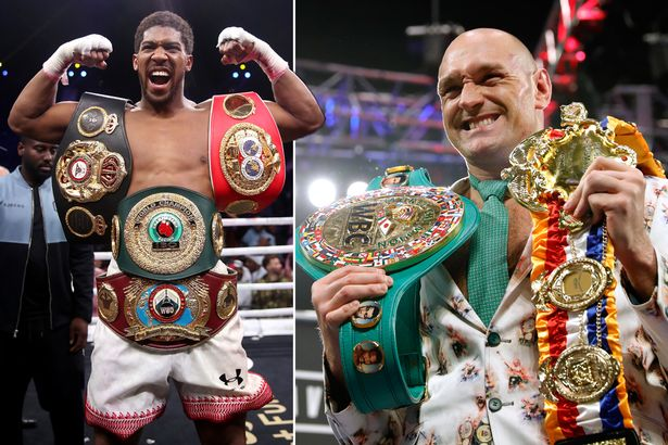Tyson Fury and Anthony Joshua Agree to Two-Fight Deal