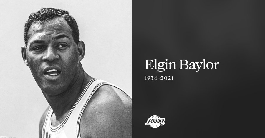 SOURCE SPORTS: Lakers Legend Elgin Baylor Dies at 86