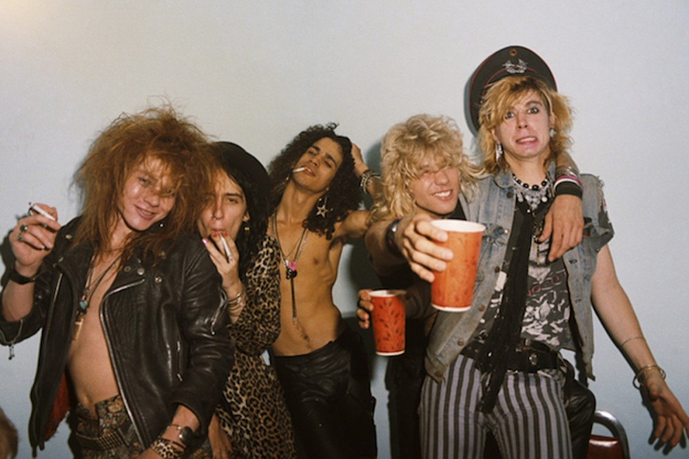 35 Years Ago: Guns N' Roses Sign to Geffen Records