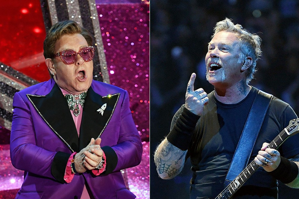 Elton John Confirms He Has 'Just Done Something With Metallica'