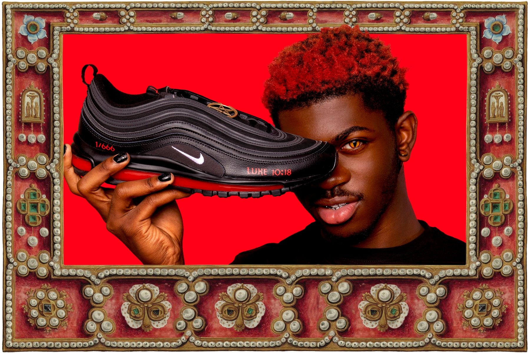 Nike Denies Collaborating With Lil Nas X For Satan Sneakers