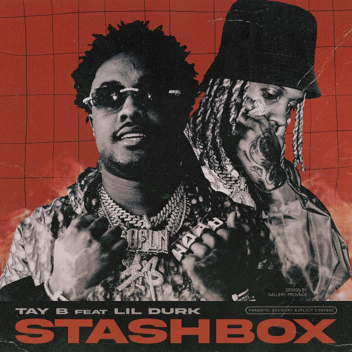 "Lil Durk Lends His Starpower On Tay B's ""Stashbox"" Cut"